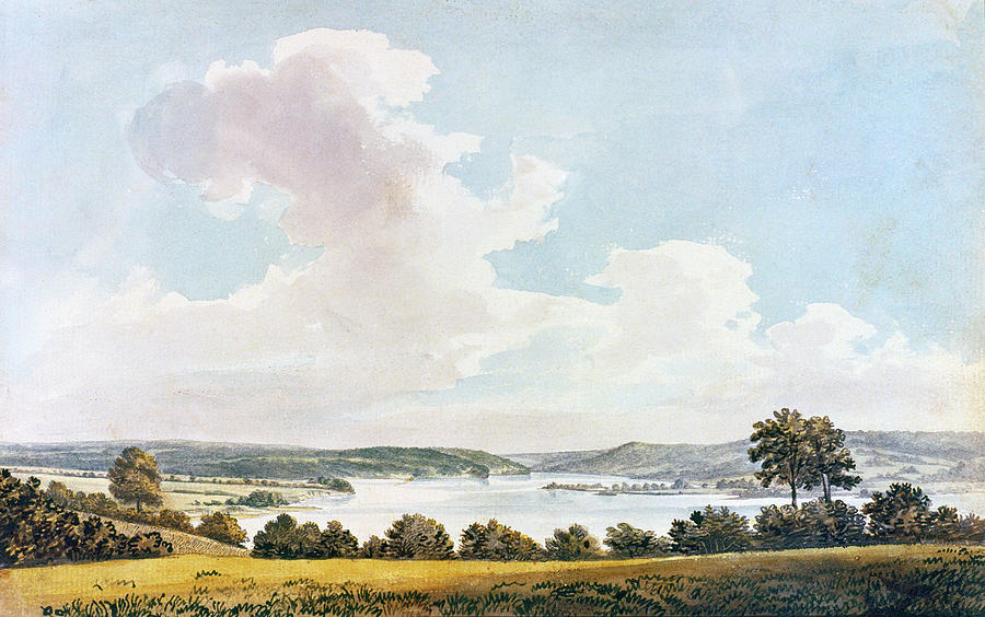 1796 Painting - Mount Vernon by Granger