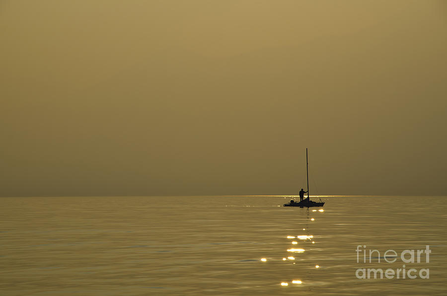Boat Photograph - Sailing Boat by Mats Silvan