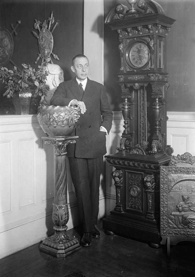 20th Century Photograph - Sergei Rachmaninoff (1873-1943) by Granger