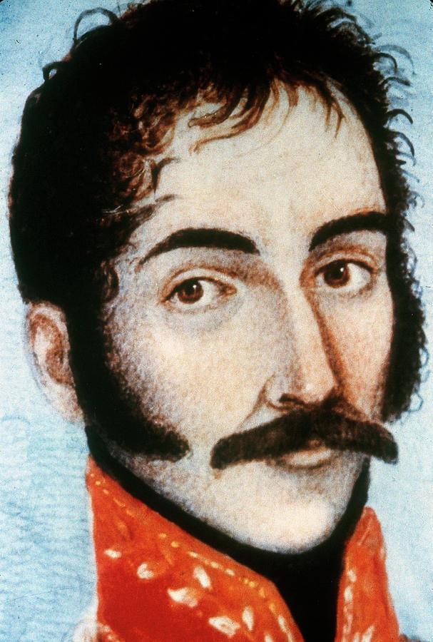 1819 Painting - Simon Bolivar (1783-1830) by Granger