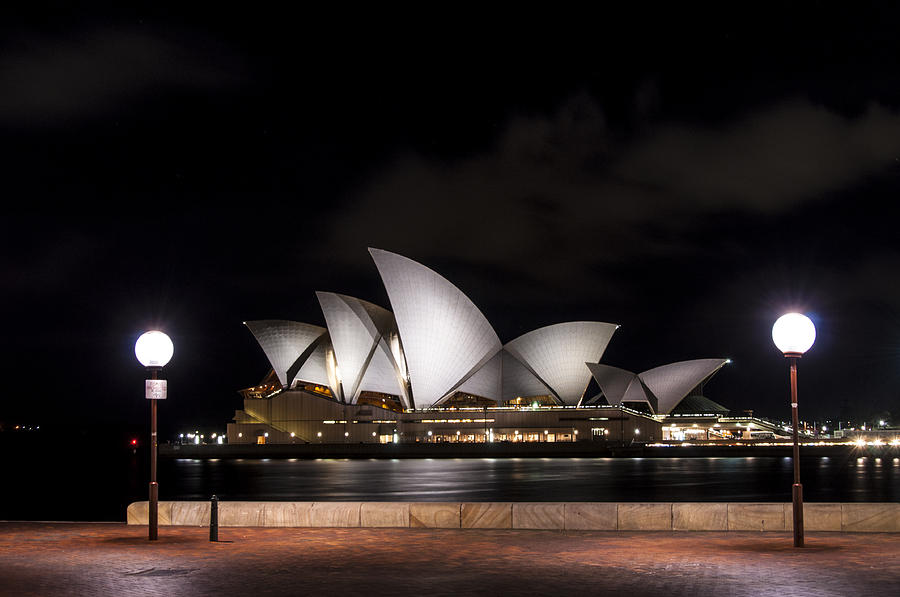 Architecture Photograph - Sydney Opera House by Gej Jones