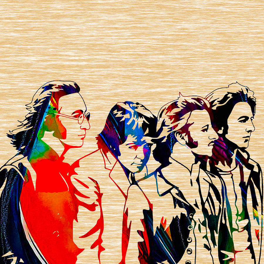 The Beatles Collection Mixed Media by Marvin Blaine
