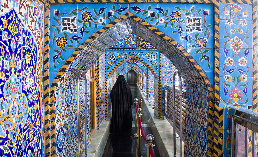The Shrine Of Imam Hussein 9 Photograph by Rasoul Ali