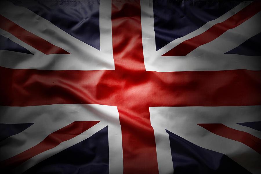 Flag Photograph - Union Jack  by Les Cunliffe