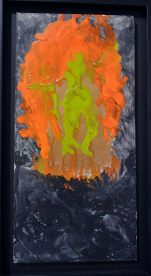 Abstract Painting - Untitled by Brenda Chapman