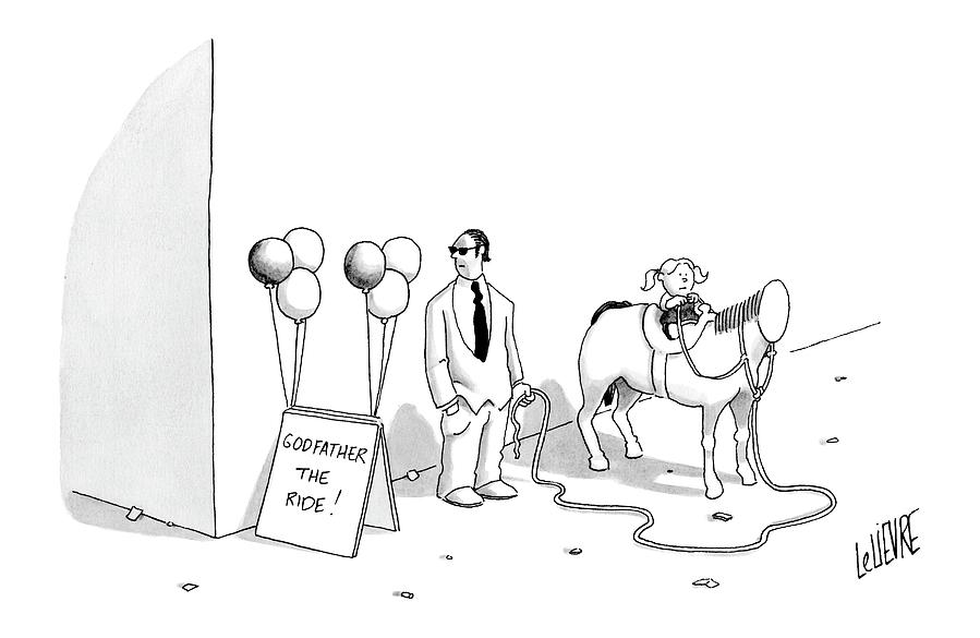 New Yorker August 7th, 2006 Drawing by Glen Le Lievre