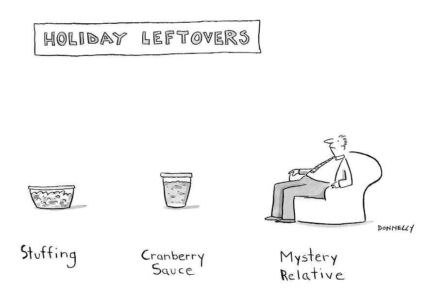 New Yorker November 26th, 2007 Drawing by Liza Donnelly