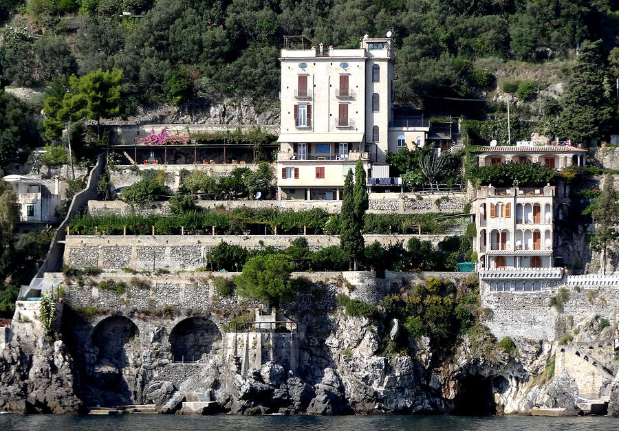 Views From The Amalfi Coast In Italy Photograph