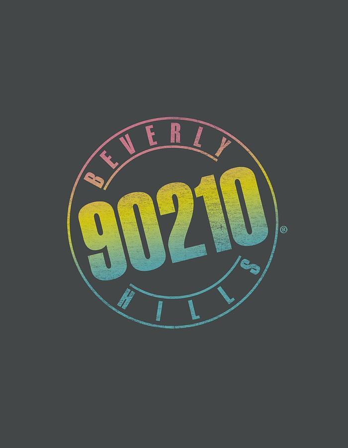90210 Digital Art - 90210 - Color Blend Logo by Brand A