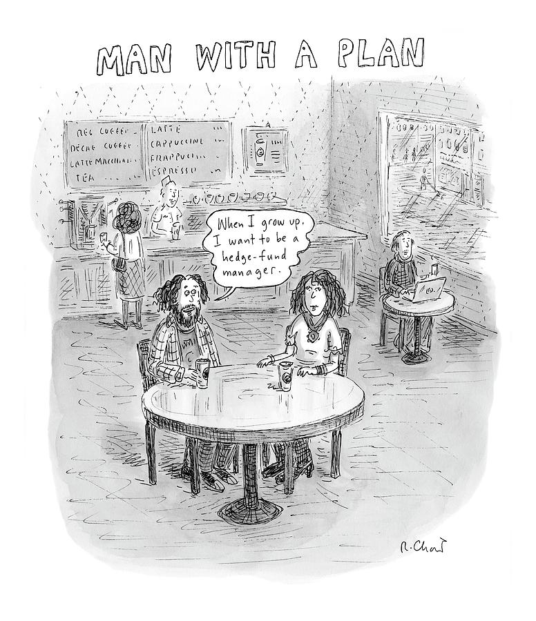 New Yorker April 9th, 2007 Drawing by Roz Chast