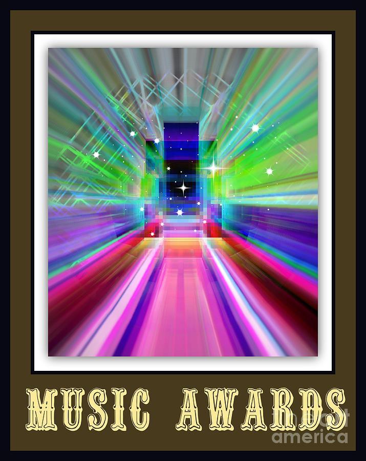 New Digital Art - Music Awards by Meiers Daniel