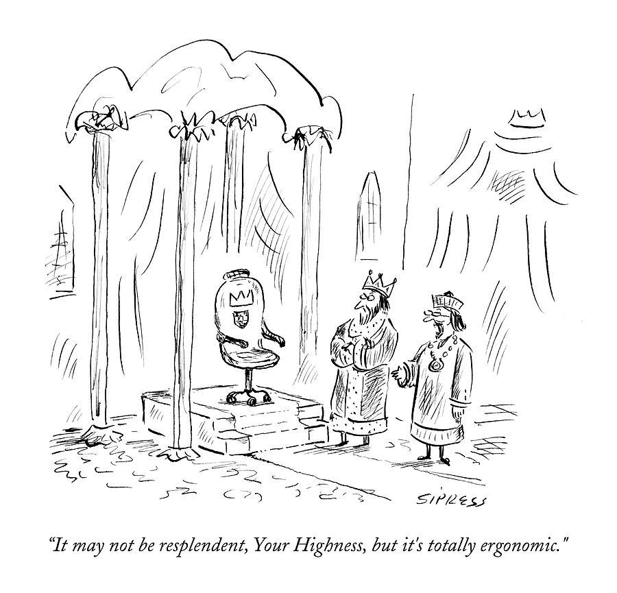 It May Not Be Resplendent Drawing by David Sipress