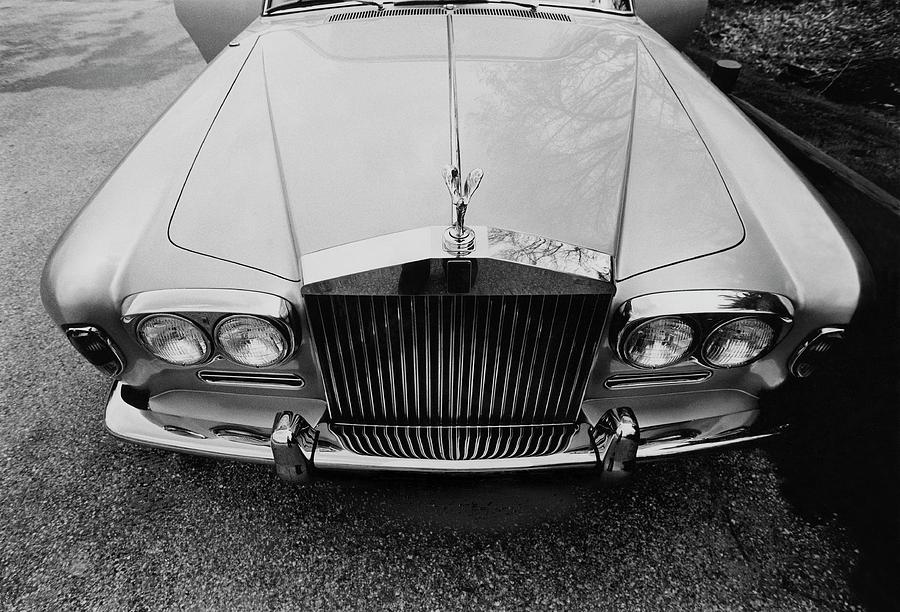 A 1974 Rolls Royce Photograph by Peter Levy