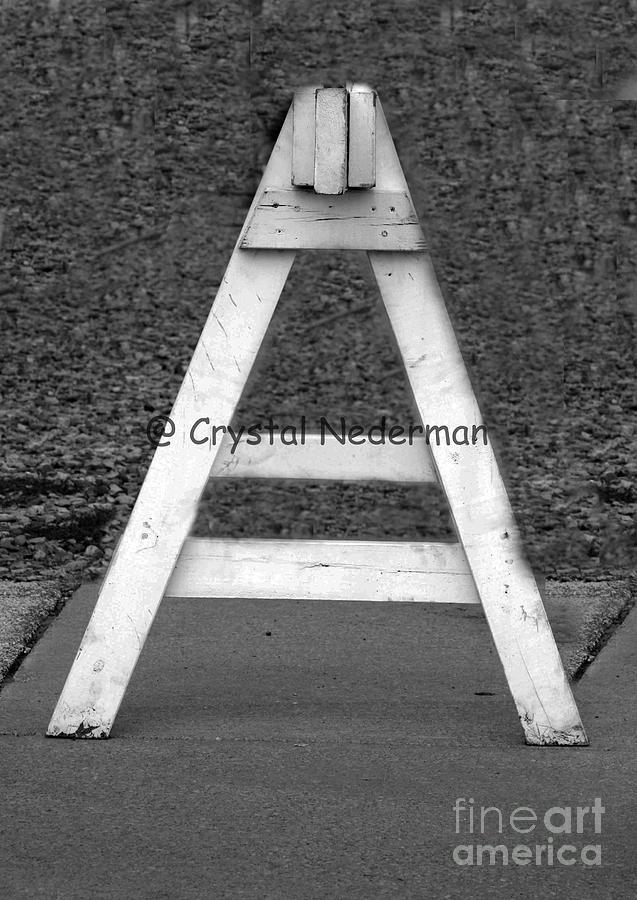 Alphabet Photograph - A-5 by Crystal Nederman