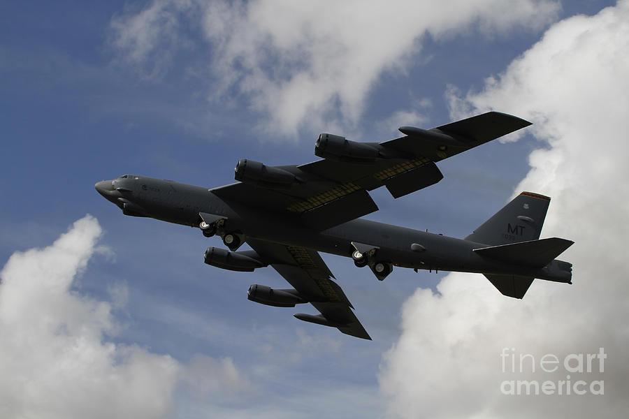 A B-52 Stratofortress Heavy Bomber Photograph
