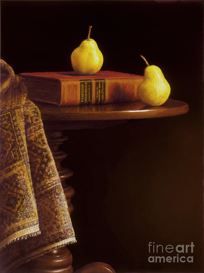Pears Painting - A Bartlett Of A Different Kind by Barbara Groff
