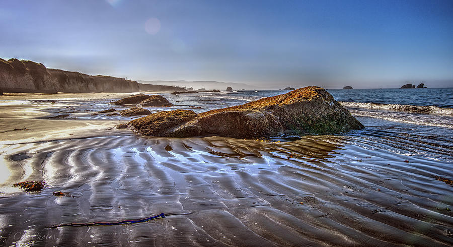 A Beach Scene Digital Art