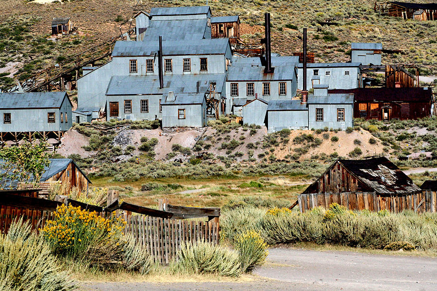Ghost Town Photos Photograph - A Bodie View From Above by Joseph Coulombe