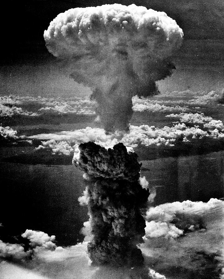 Atomic Bomb Photograph - A-bomb by Benjamin Yeager