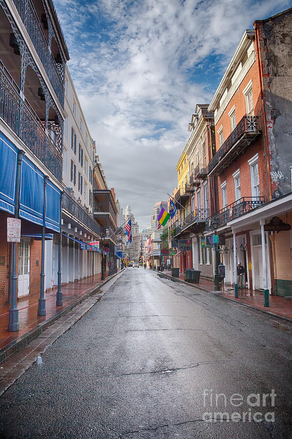 New Orleans Photograph - A Bourbon Morning by Kay Pickens