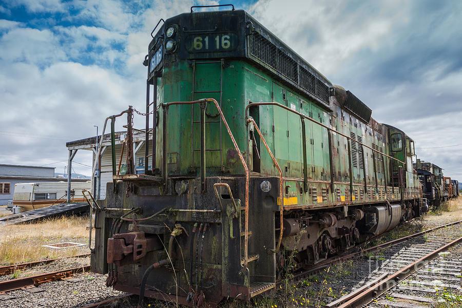 Train Photograph - A Boys Dream by Carrie Cole