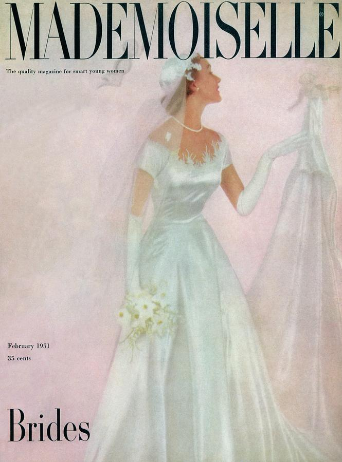 A Bride Wearing A Mindelle Dress Photograph by Somoroff