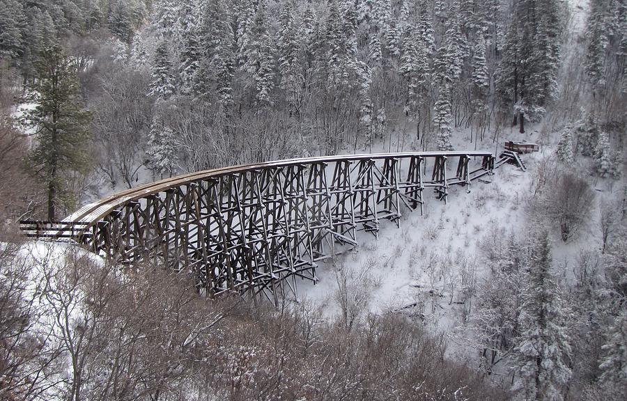 Bridge Photograph - A Bridge To Nowhere by Feva  Fotos