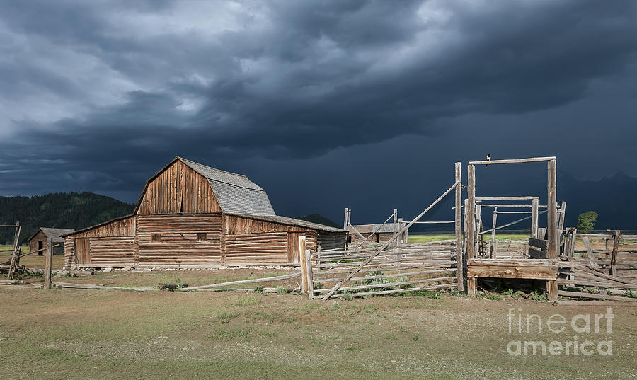 Barns Photograph - A Brief Moment by Sandra Bronstein