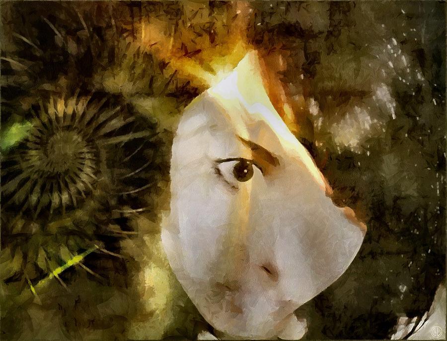 Digital Art - A Bright Idea by Gun Legler