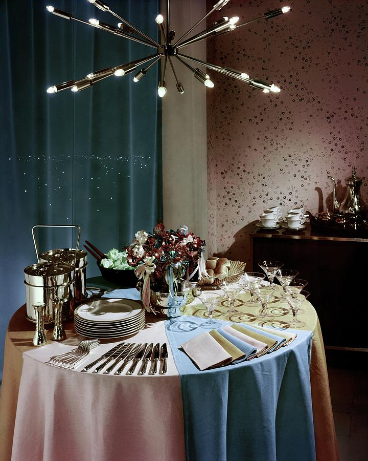 A Buffet Table At A Party Photograph by Wiliam Grigsby