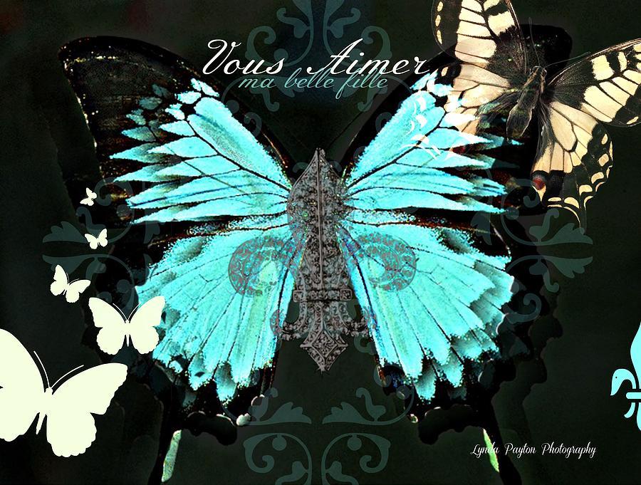 Butterfly Digital Art - A Butterfly For Terra by Lynda Payton