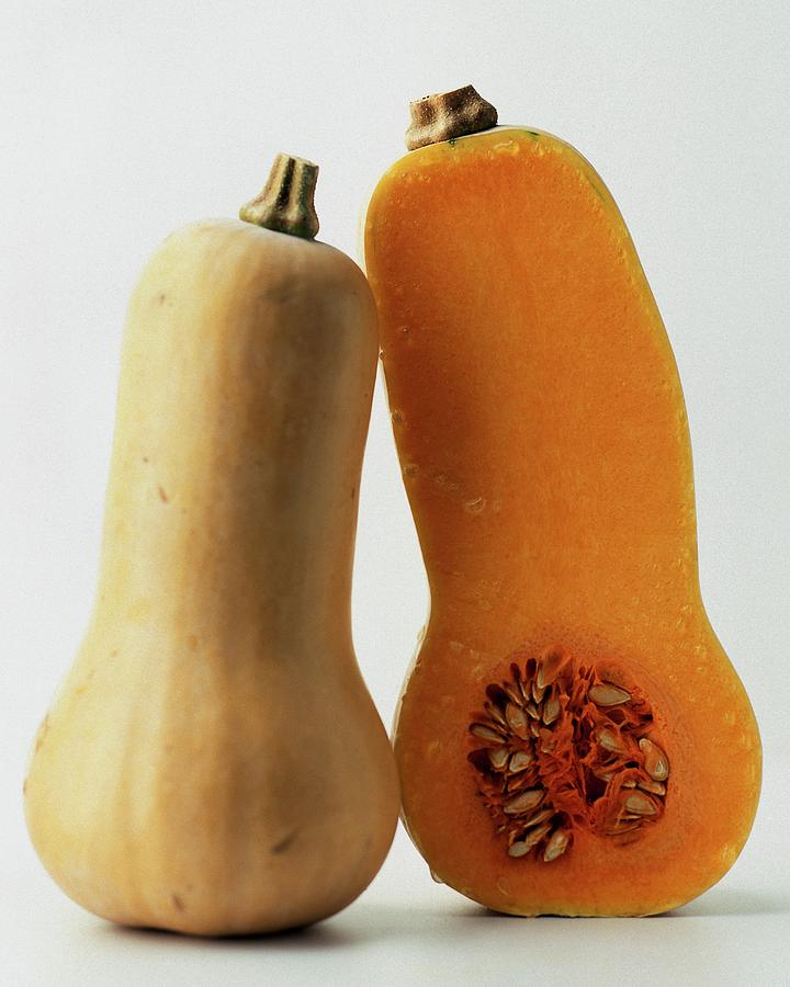 A Butternut Squash Photograph by Romulo Yanes