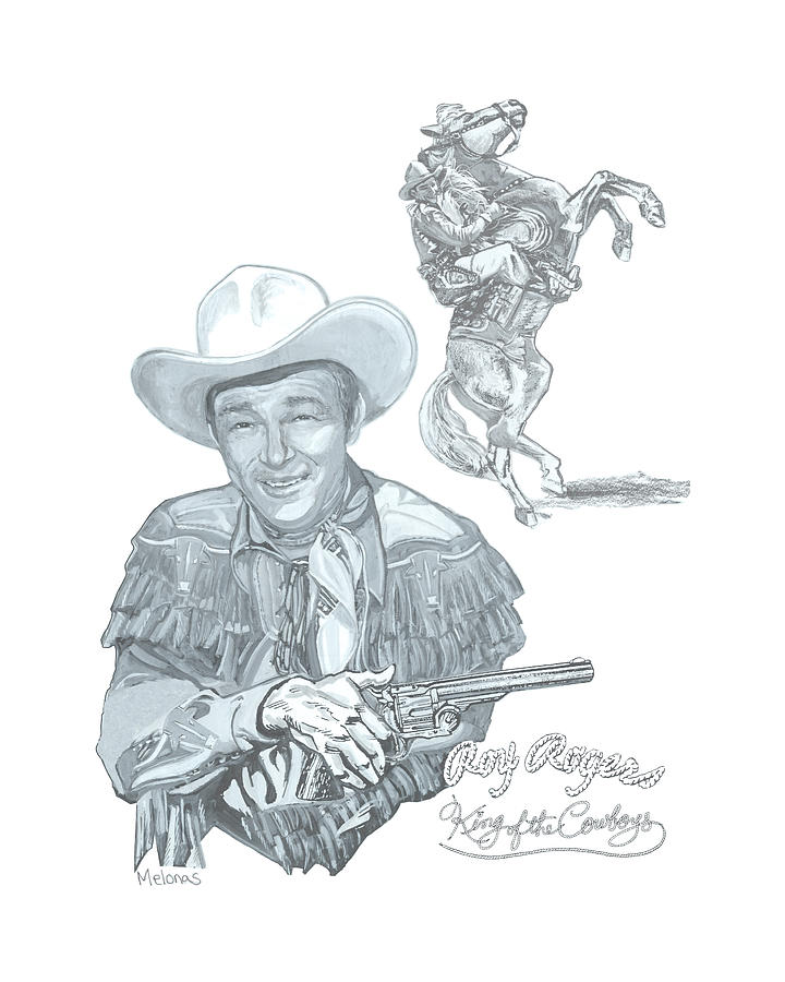 Roy Rogers Painting - A Bygone Era by Peter Melonas