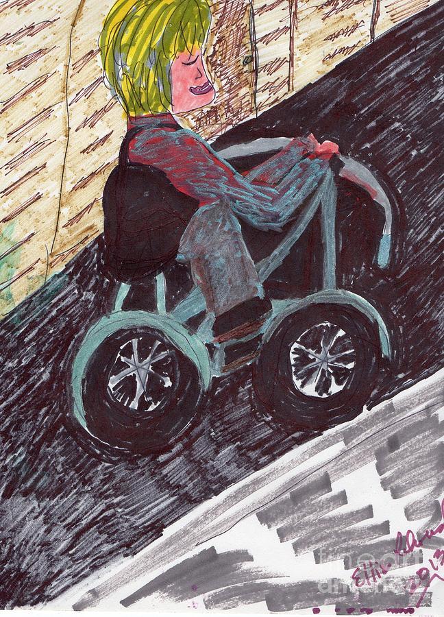 A Casual Ride Mixed Media by Elinor Helen Rakowski