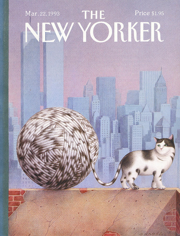 New Yorker March 22, 1993 Painting by Gurbuz Dogan Eksioglu