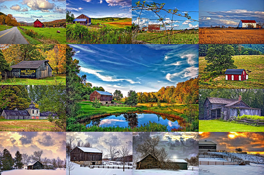 West Virginia Photograph - A Celebration Of Barns  by Steve Harrington