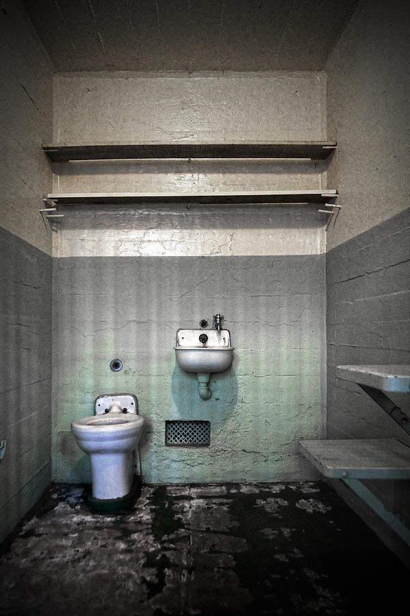 Cell Photograph - A Cell In Alcatraz Prison by RicardMN Photography