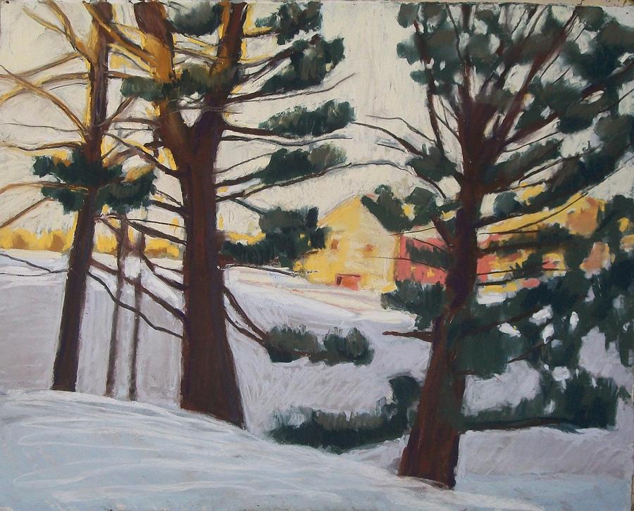 Maine Pastel - A Certain Slant Of Light by Grace Keown
