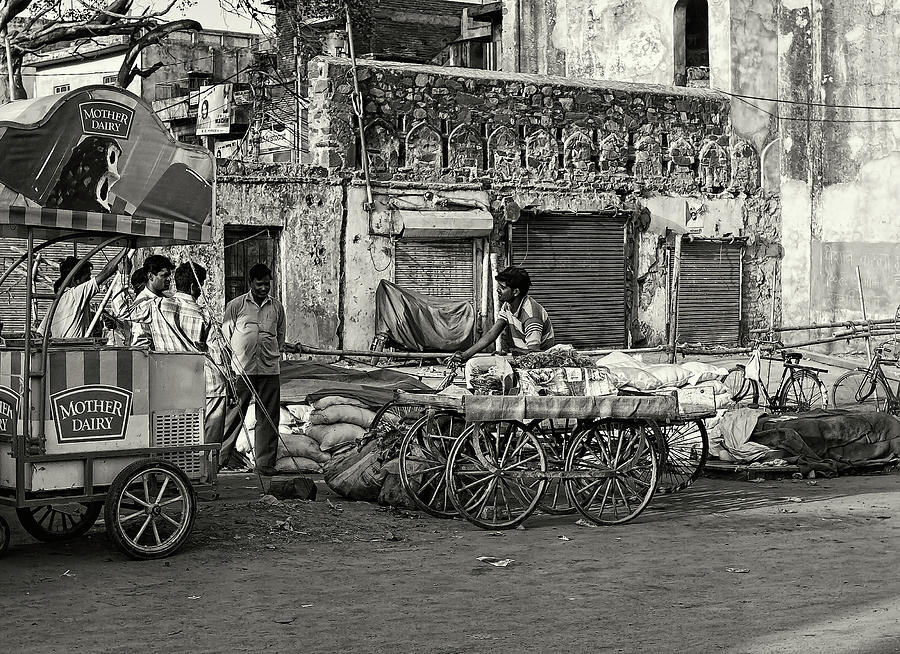 Asia Photograph - A Chat Among Friends by Roberto Pagani
