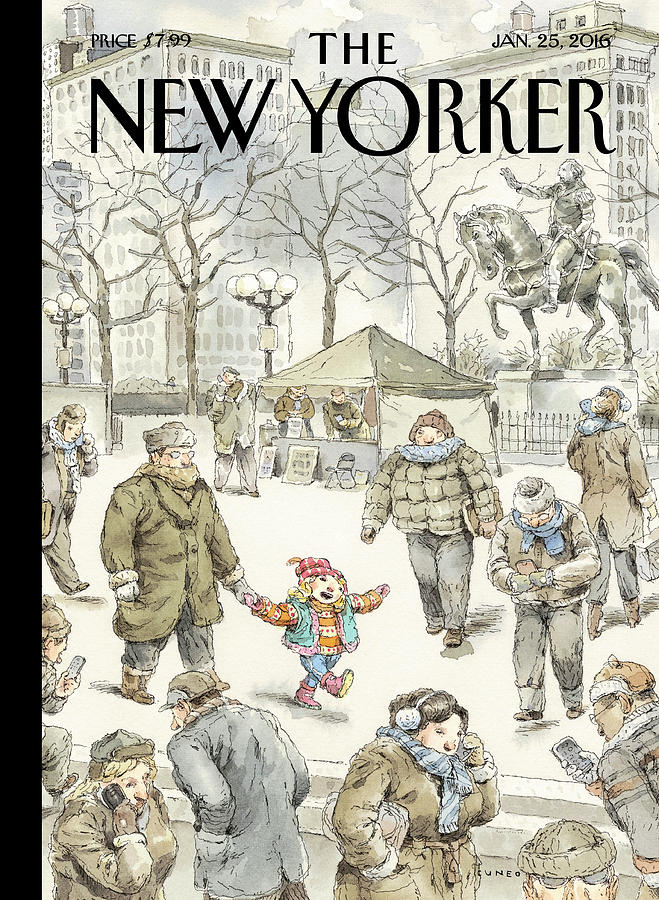 Winter Delight Painting by John Cuneo
