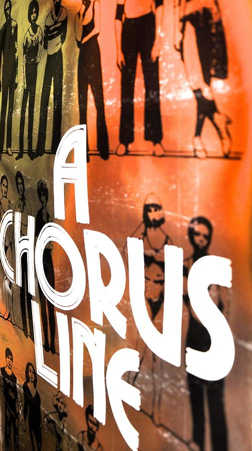 Music Photograph - A Chorus Line Vintage II by Toni Ryder
