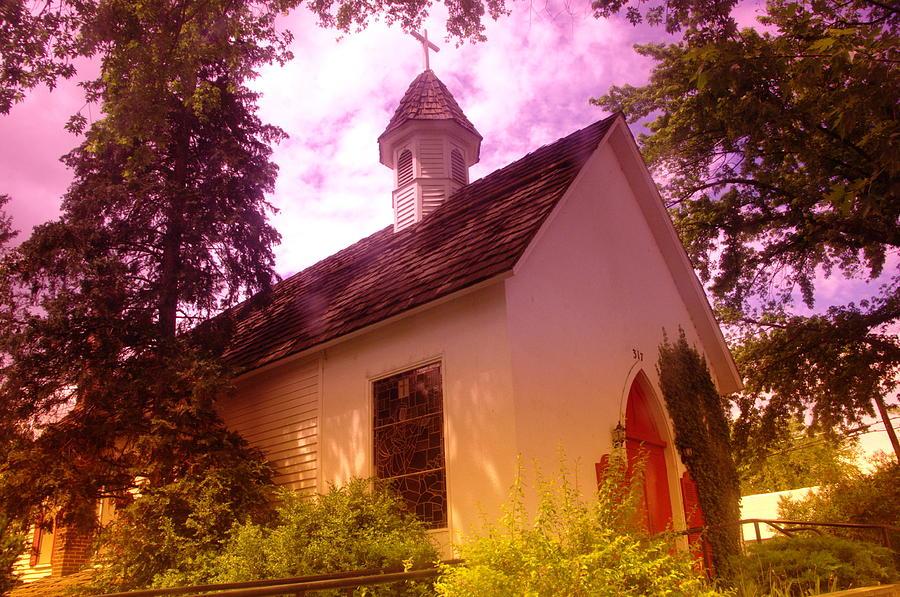 Churches Photograph - A Church In Prosser Wa by Jeff Swan