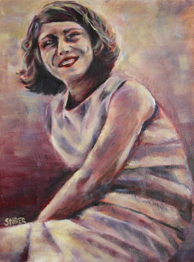 Beauty Painting - A Classic Beauty by Kathy Stiber
