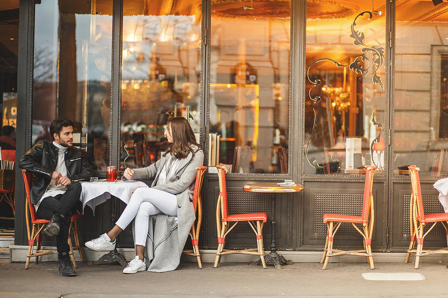 A classic Parisian cafe Photograph by Fotostorm