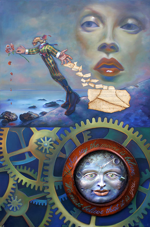 A Clockwerk Moone is a Harsh Mistress by Patrick Anthony Pierson
