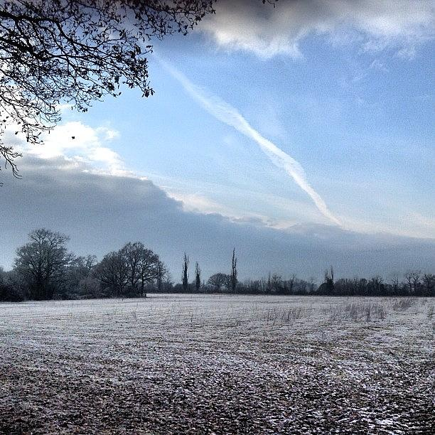 Cold Photograph - A Cold And Frosty Morning by Nic Squirrell