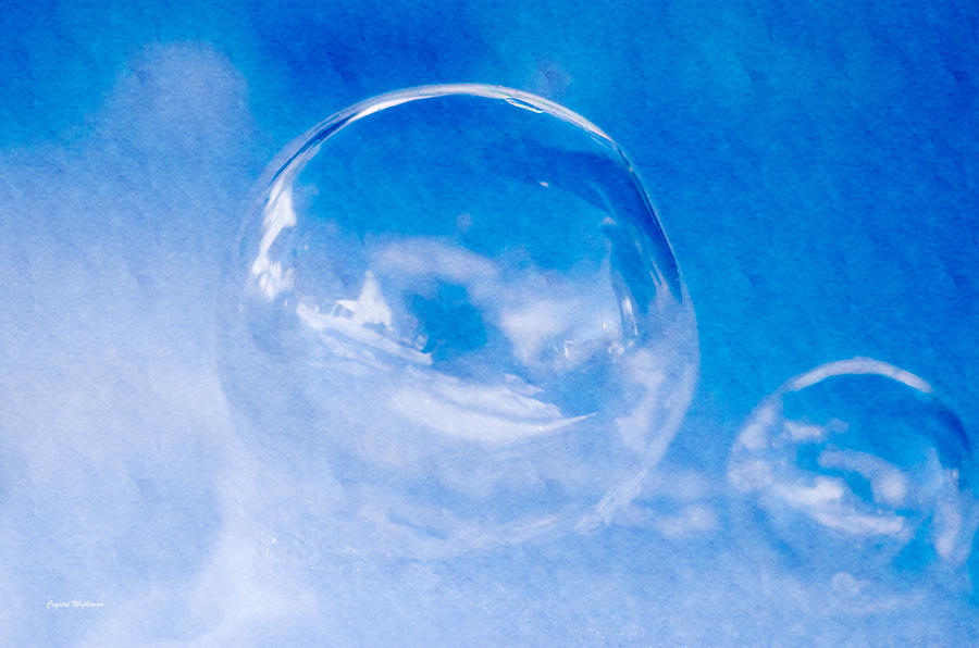 A Cold Winter Bubble Photograph
