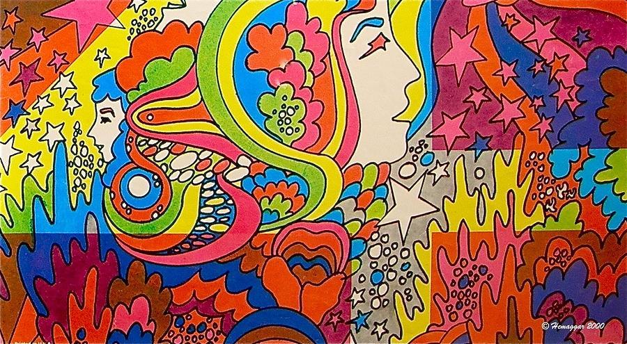 Dream Drawing - A Colorful Dream by Hemu Aggarwal