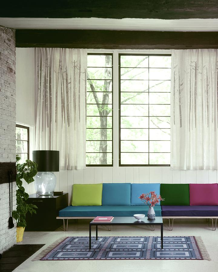 A Colourful Living Room Photograph by Wiliam Grigsby