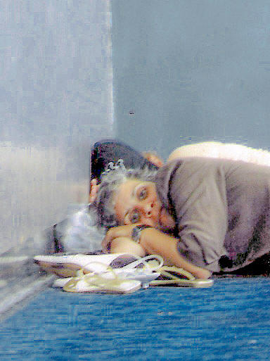 Homeless Photograph - A Corner To Rest My Head by Christy Usilton
